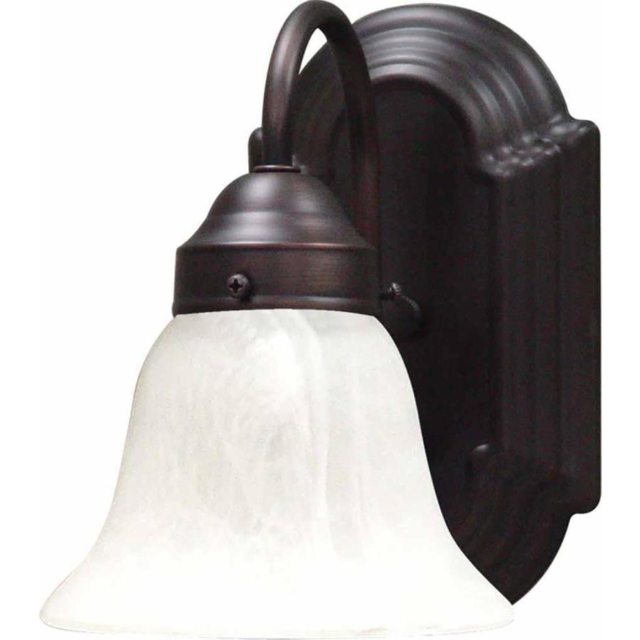 Antique Bronze Vanity Lights : Shop Lamonte 1-Light 8.5-in Antique Bronze Vanity Light at Lowes.com