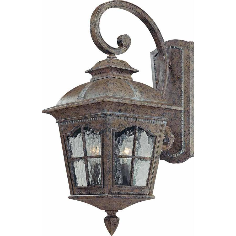 Elida 21.5-in H Amulet Bronze Outdoor Wall Light