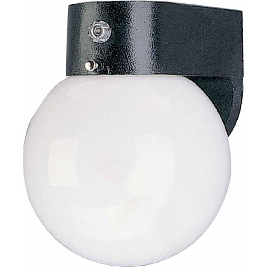 Burdex 7.25-in H Black Outdoor Wall Light