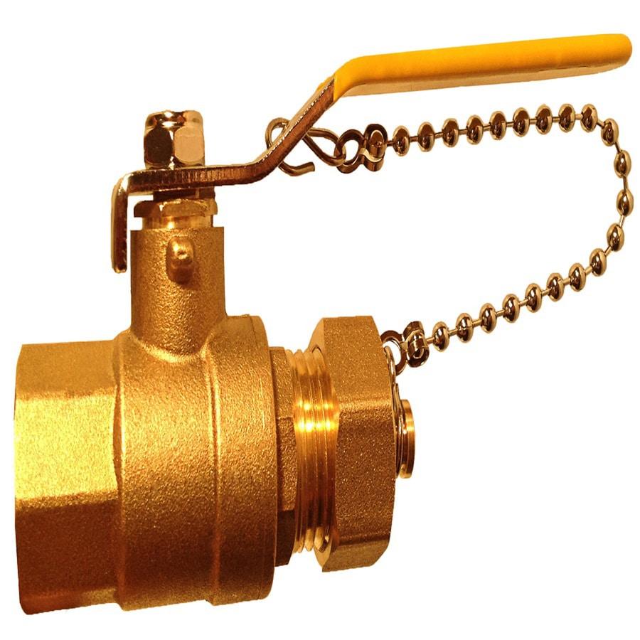 Water Heater Smart Brass 3/4-in Female Ball Valve