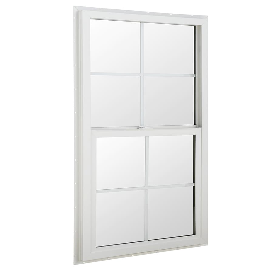 BetterBilt 24-in x 36-in 3040TX Series Aluminum Double Pane New Construction Single Hung Window
