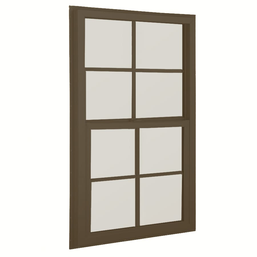 BetterBilt 36-in x 48-in 3040TX Series Aluminum Double Pane New Construction Single Hung Window