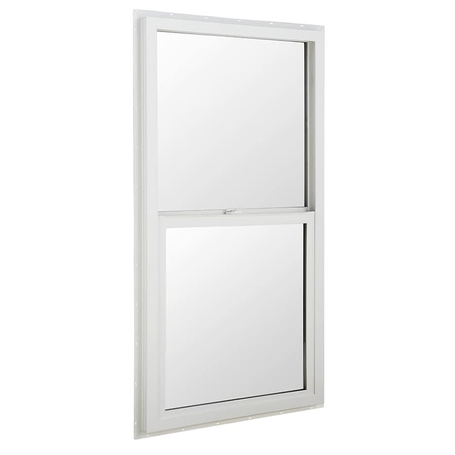 BetterBilt 24-in x 36-in 3040TX Series Aluminum Double Pane New Construction Single Hung Window