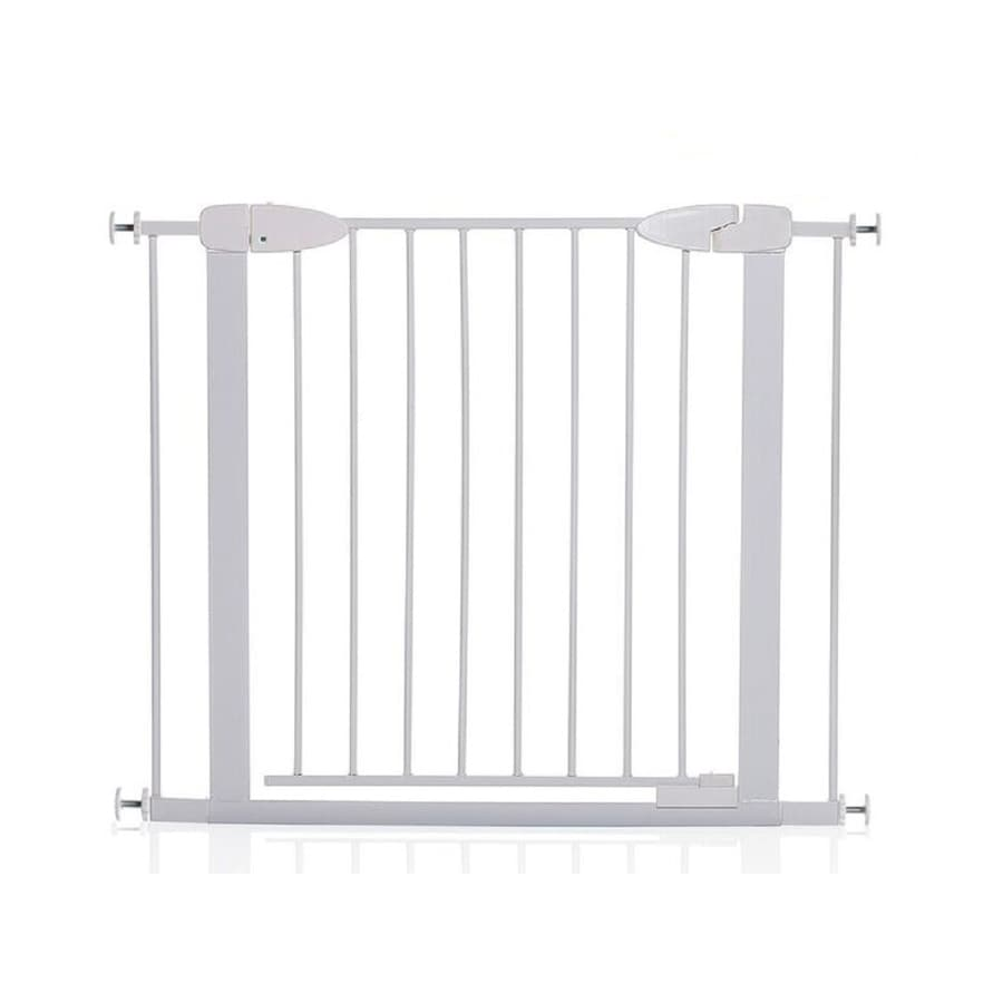 Dreambaby 38-in x 29.5-in White Metal Child Safety Gate