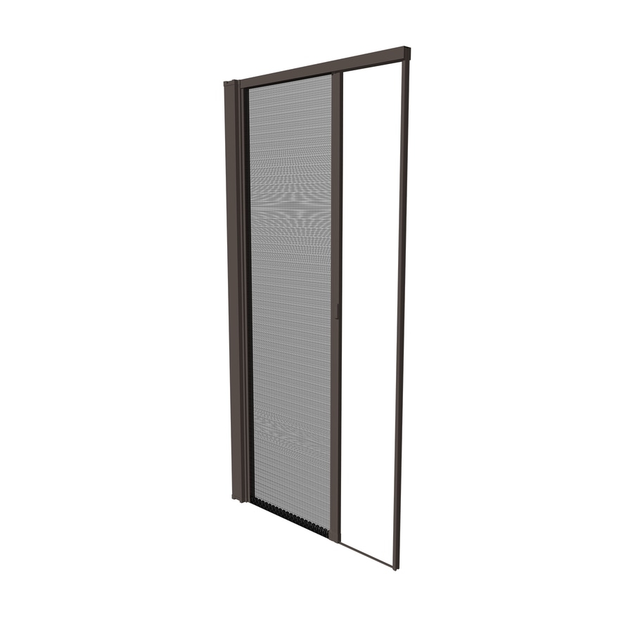 Shop Phantom Screens Sureview Brown Retractable Screen At