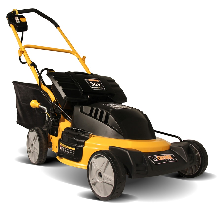 Recharge Mower 36-Volt 20-in Cordless Electric Push Lawn Mower