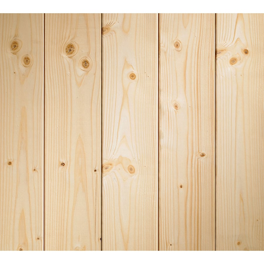 Shop Evertrue 8 Ft Wood Wall Panel At
