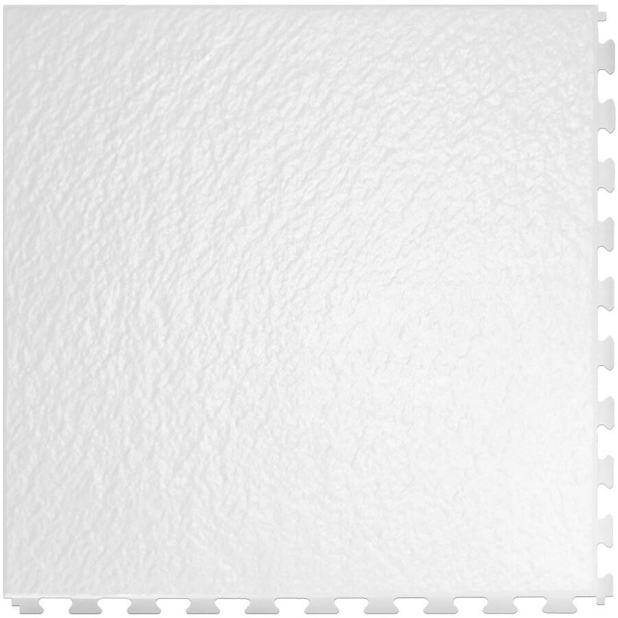 Perfection Floor Tile 20-in x 20-in White Slate Garage Flooring Tile