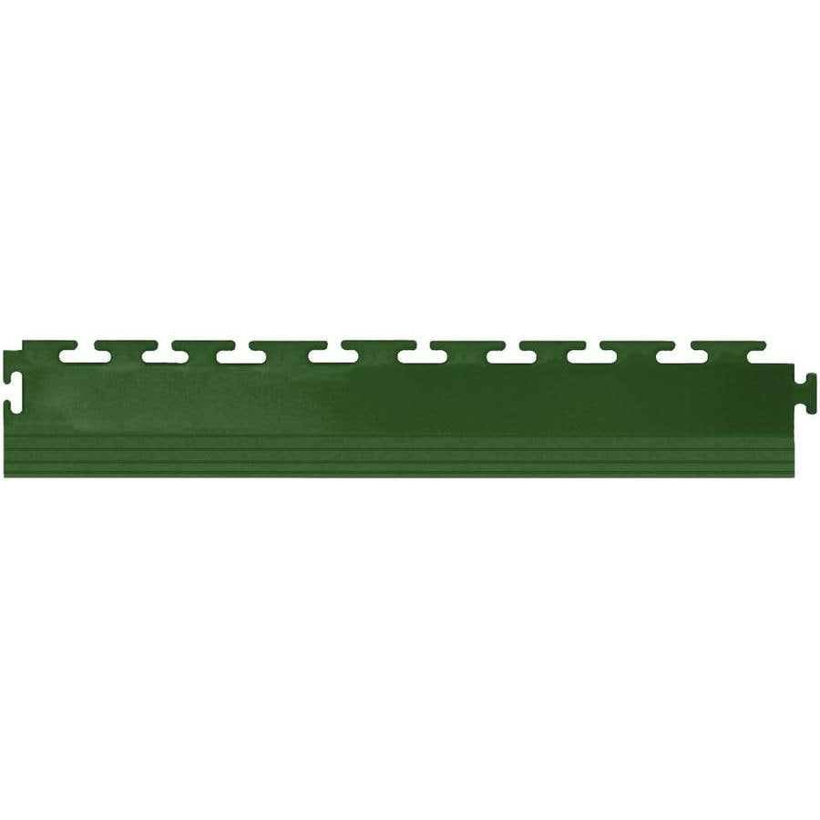 Perfection Floor Tile 4-Pack Forest Green 3-in W x 20-1/2-in L Garage Flooring Edges