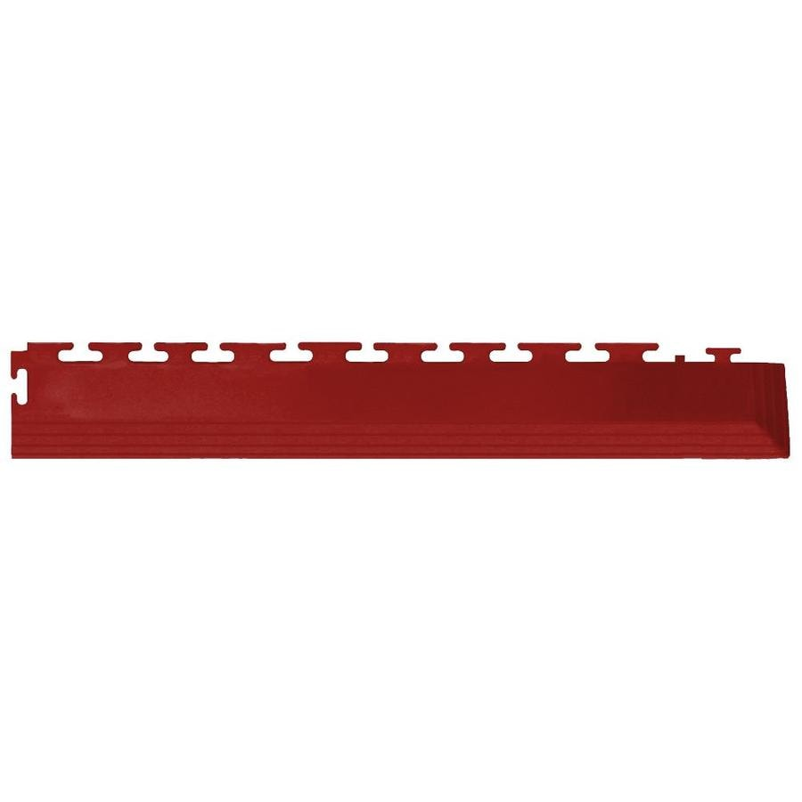 Perfection Floor Tile 4-Pack Terracotta 3-in W x 20.5-in L Garage Floor Corners