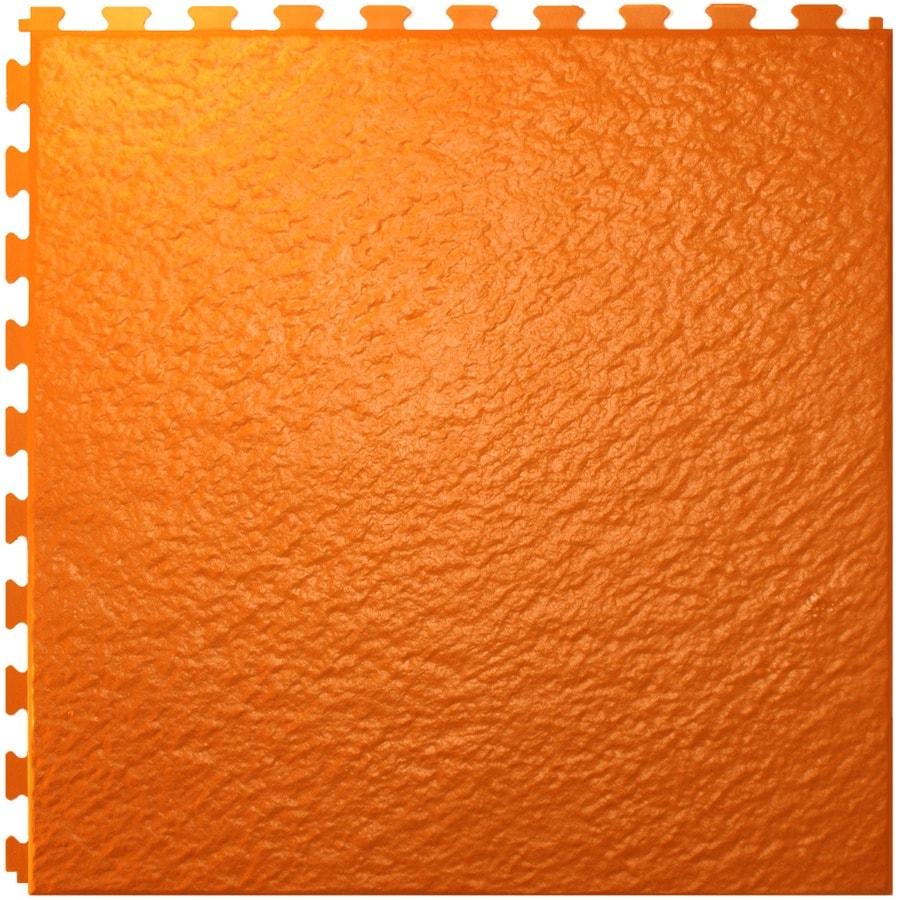 Perfection Floor Tile 6-Piece 20-in x 20-in Sunset Slate Garage Floor Tile