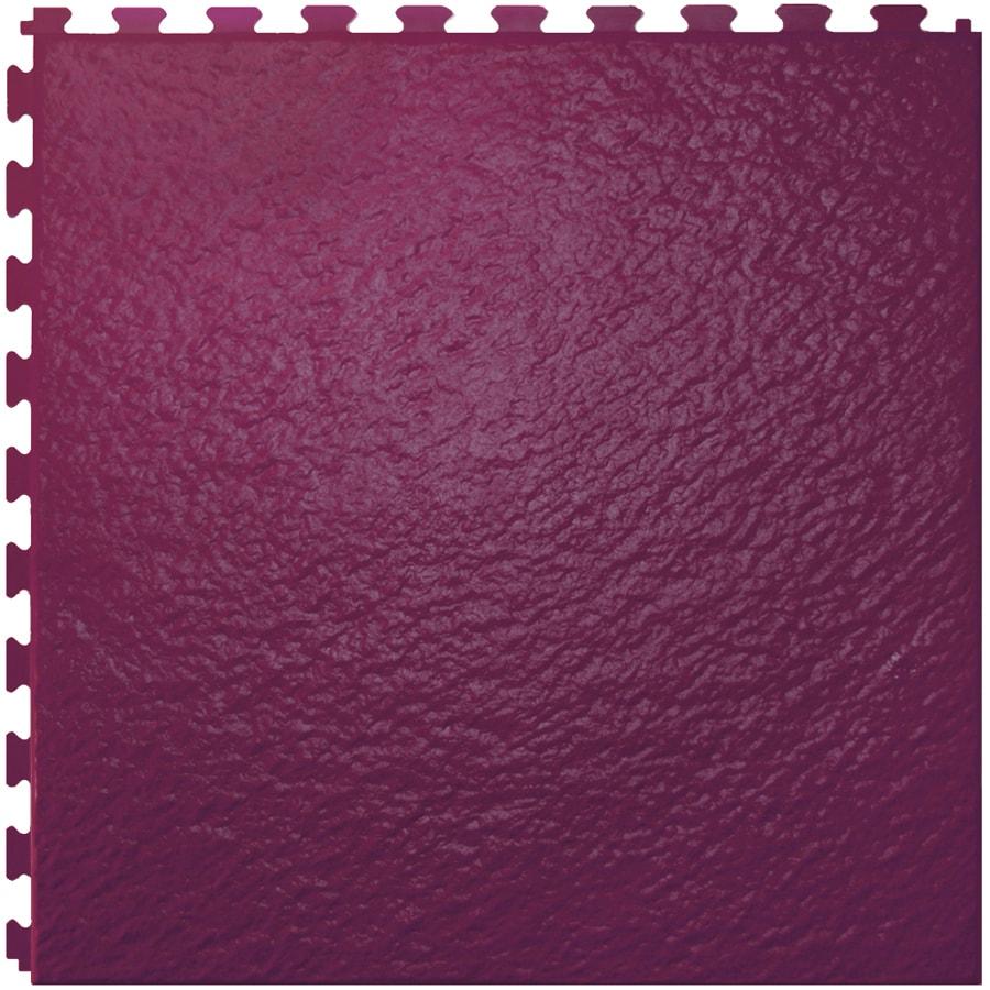 Perfection Floor Tile 6-Piece 20-in x 20-in Merlot Slate Garage Floor Tile