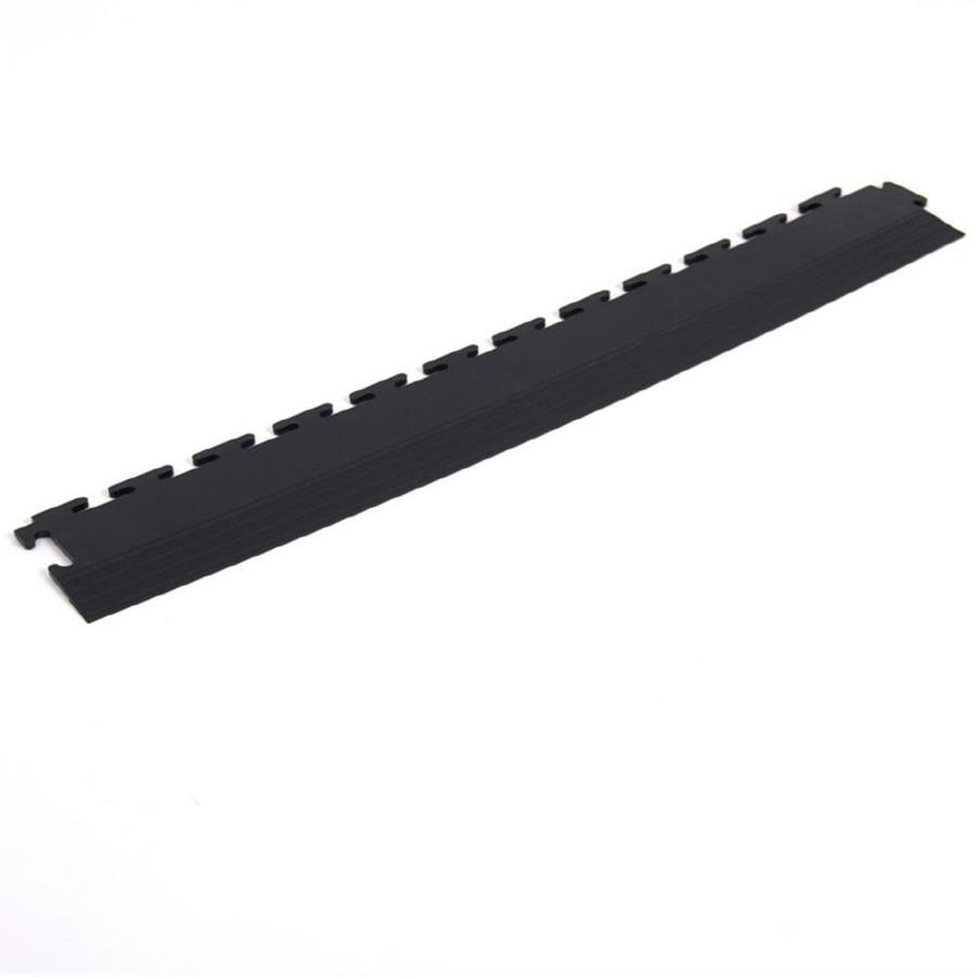 Flexi-Tile 4-Pack Black 3-in W x 20-1/2-in L Garage Flooring Edges