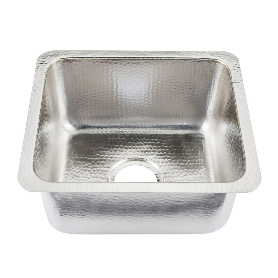 SINKOLOGY Nickel Undermount Commercial/Residential Prep Sink