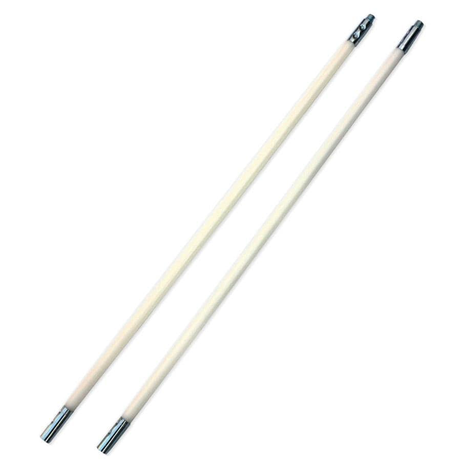 SootEater Pellet Stove 2-Pack 36-in Flexible Chimney Brush Rods