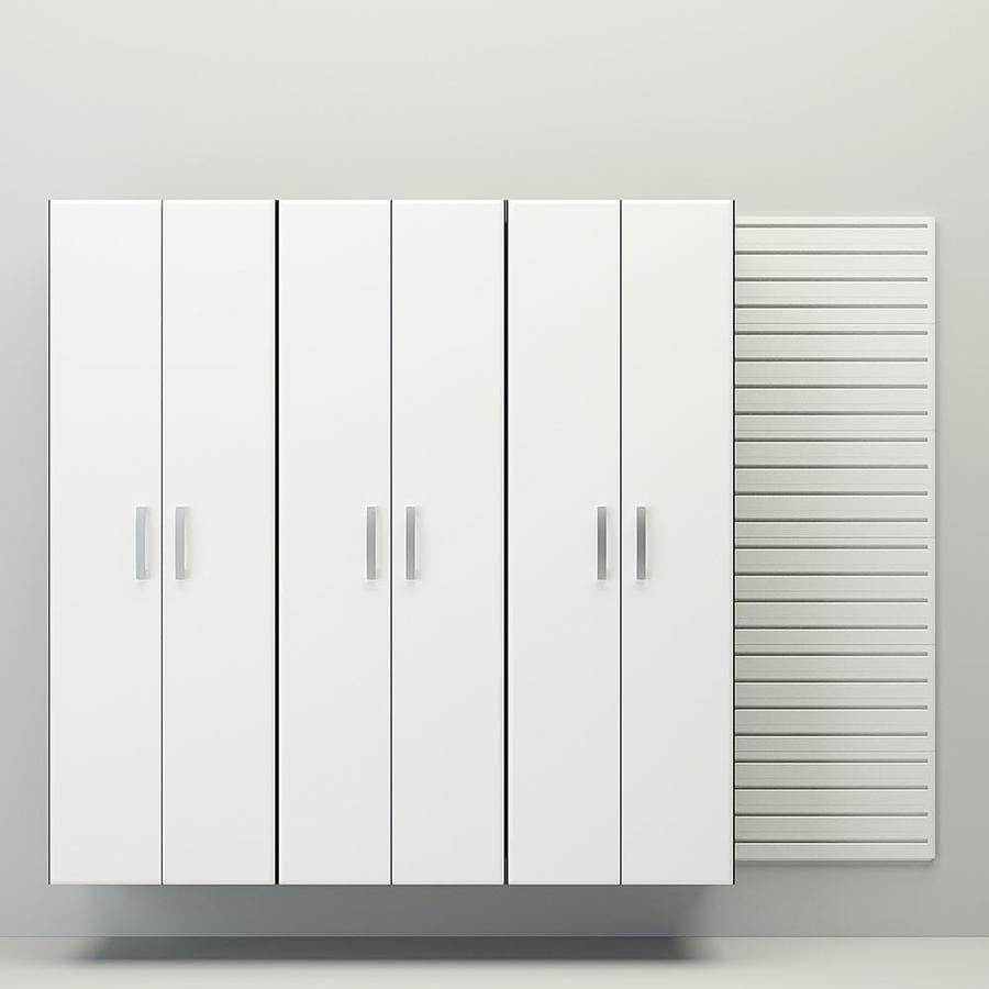 Flow Wall 3 Piece Tall Cabinet Storage Set 96 In W X 72 In