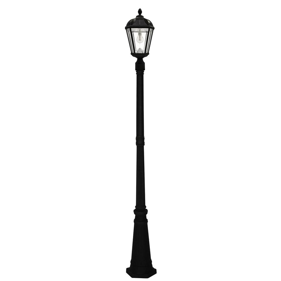 Amazon Com Gama Sonic Windsor Solar Outdoor Post Light: Shop Gama Sonic Royal Bulb 87-in H Black Solar LED