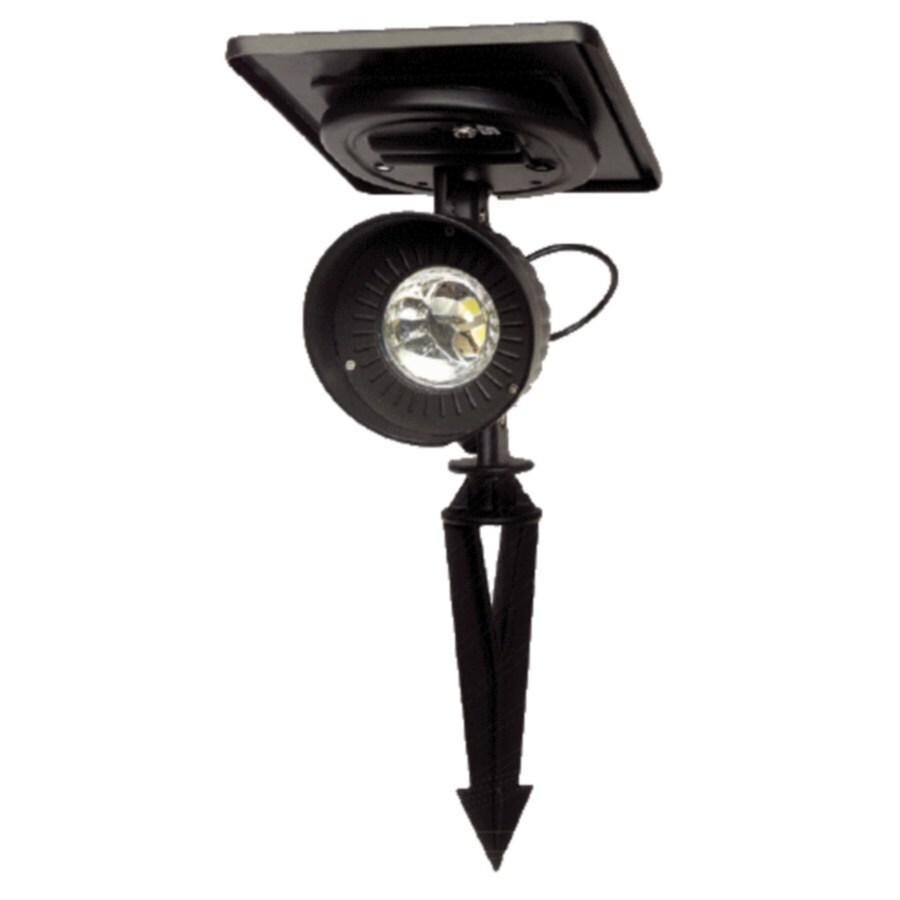 Gama Sonic Progressive Black 1-Watt (1W Equivalent) LED Spot Light