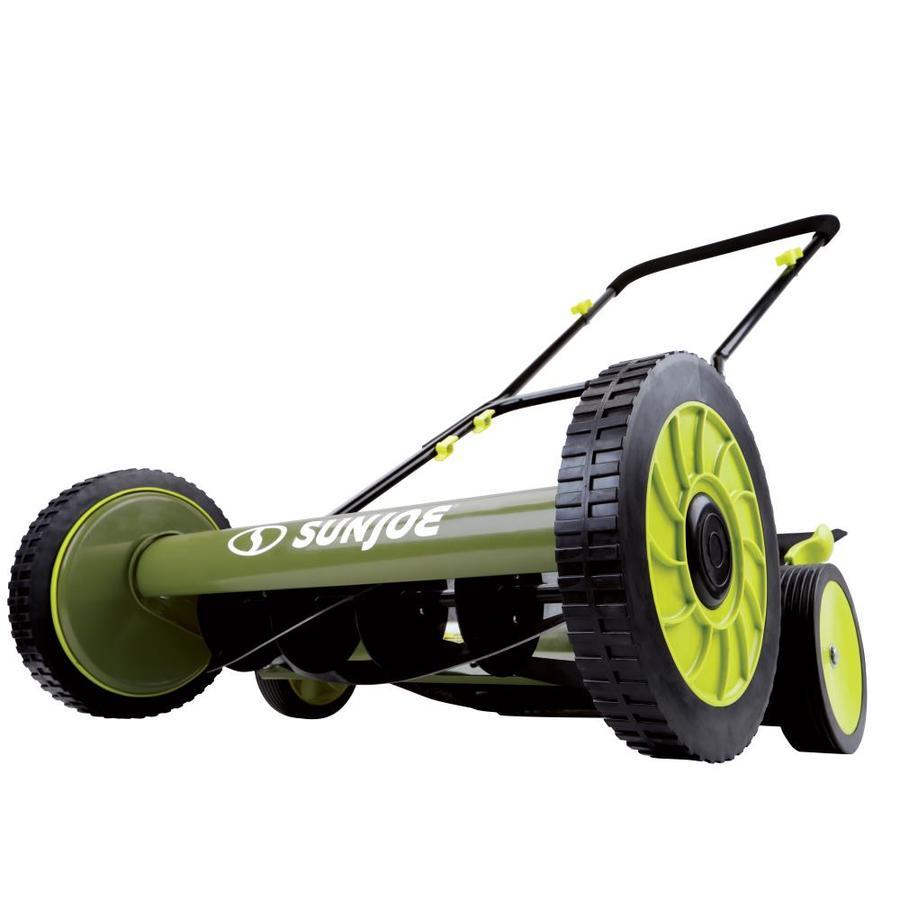 Sun Joe 18-in Reel Lawn Mower