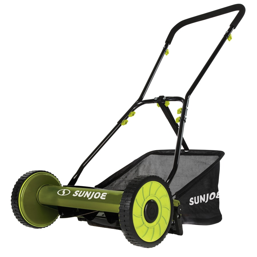 Shop Sun Joe 16-in Reel Lawn Mower at Lowes.com