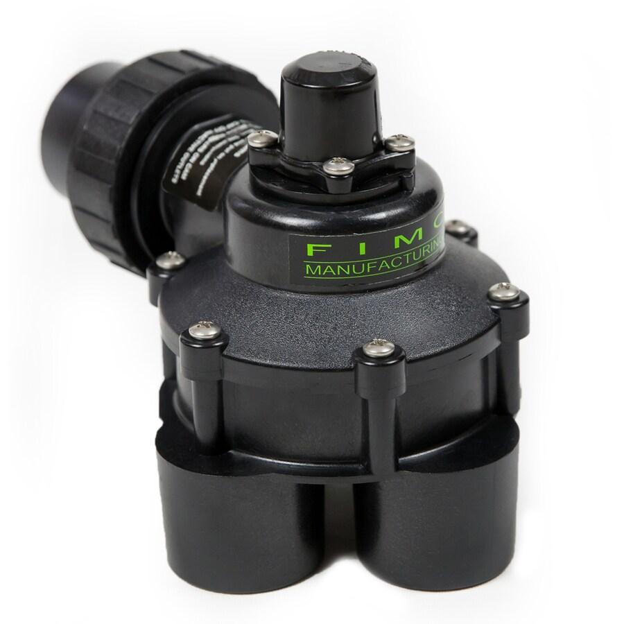 FIMCO 11/4-in Plastic Manual Irrigation Valve