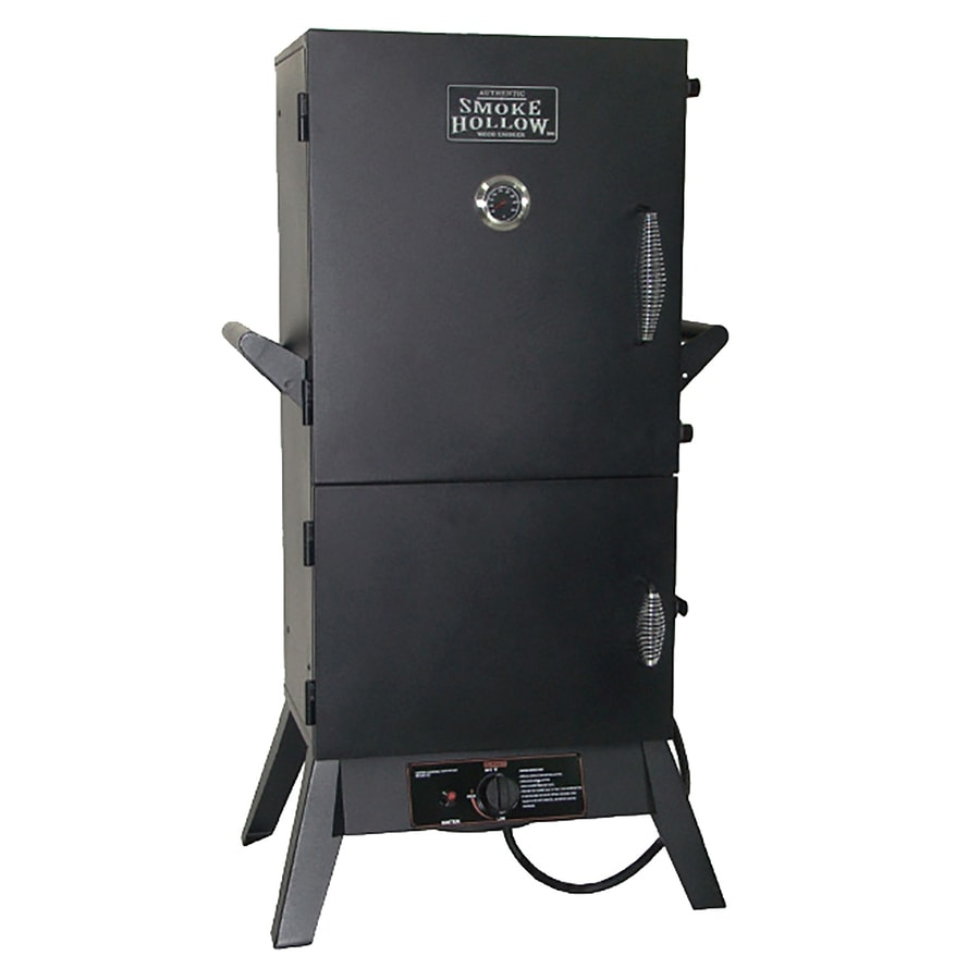 Smoke Hollow 20-lb Cylinder Push and Turn Ignition Gas Vertical Smoker (Common: 47-in; Actual: 47-in)