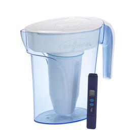 Zerowater 7 Cup Blue Water Filter Pitcher