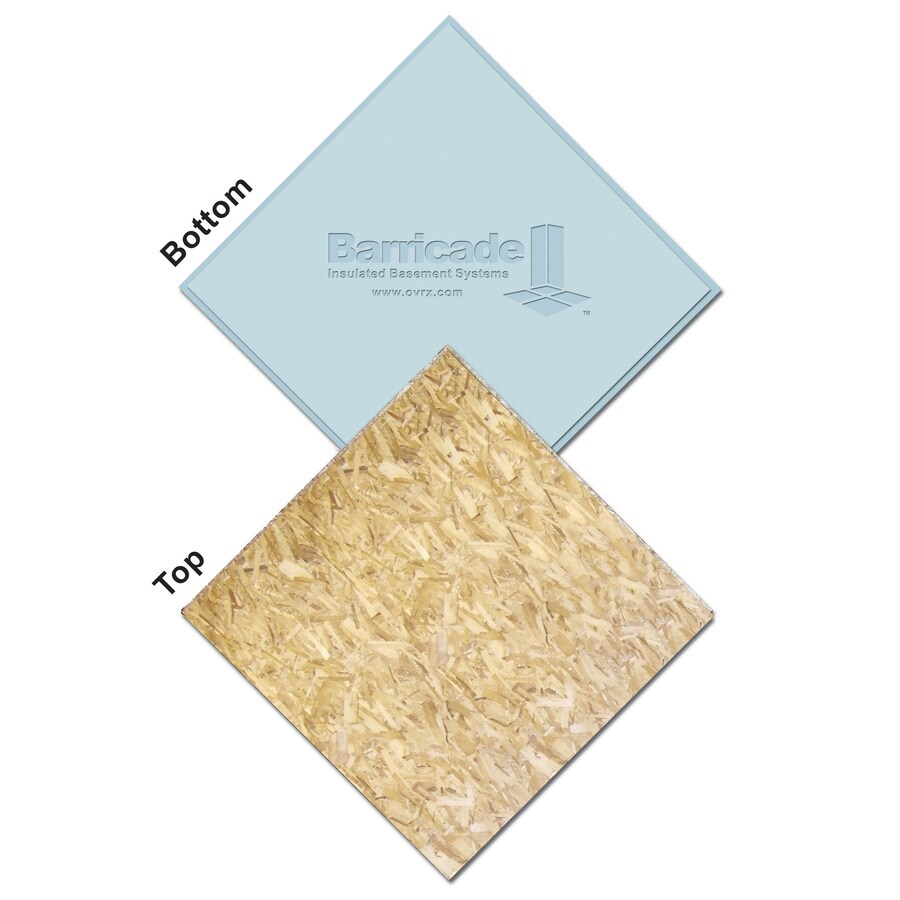 Write A Review About BARRICADE 1-1/8 X 2 X 2 OSB Subfloor