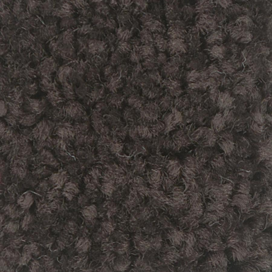 Shaw Intuition I 12-ft W x Cut-to-Length Dark Chocolate Textured Interior Carpet