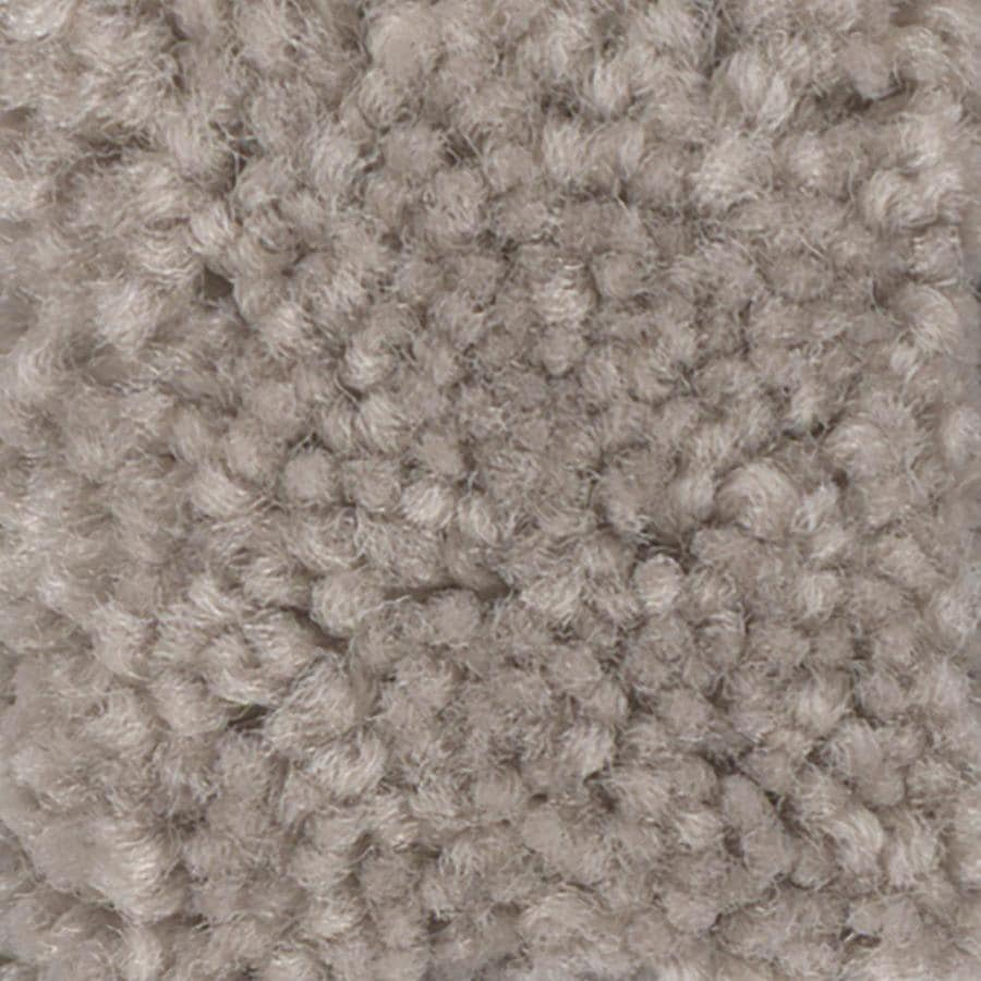 Shaw Intuition II 12-ft W x Cut-to-Length Tumbleweed Textured Interior Carpet