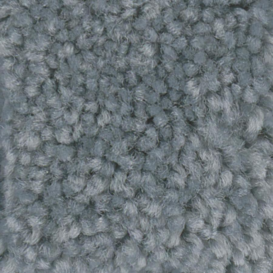Shaw Intuition II 12-ft W x Cut-to-Length Bahama Breeze Textured Interior Carpet