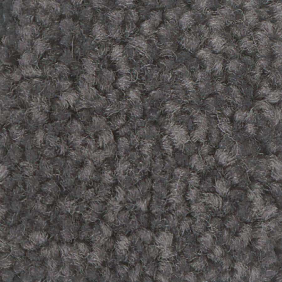 Shaw Intuition III 12-ft W x Cut-to-Length Molten Steel Textured Interior Carpet