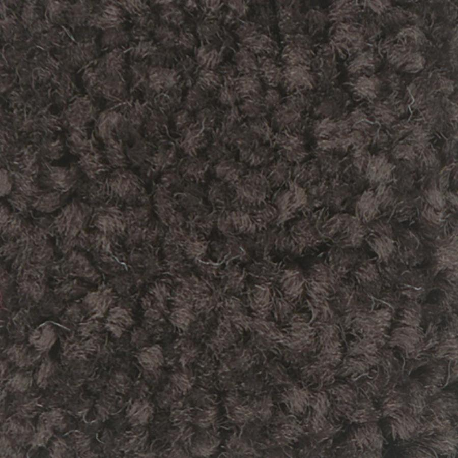 Shaw Intuition III 12-ft W x Cut-to-Length Dark Chocolate Textured Interior Carpet