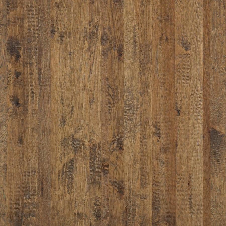 Shop shaw hickory hardwood flooring sample castel hickory for Hickory flooring