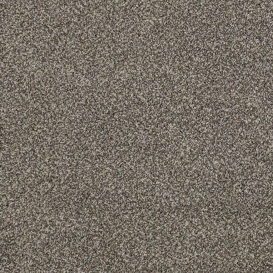 STAINMASTER PetProtect Mineral Bay I 15-ft W x Cut-to-Length Pelican Textured Interior Carpet
