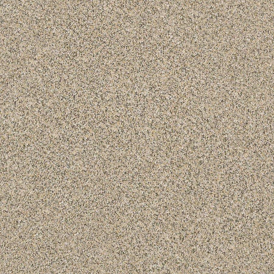 STAINMASTER Petprotect Mineral Bay Ii 12 Ft Sun Kissed Textured Indoor Carpet