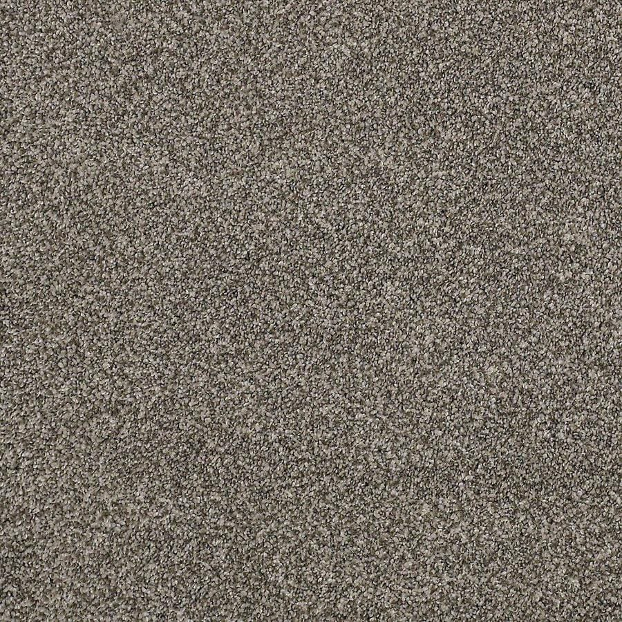 STAINMASTER PetProtect Mineral Bay II 15 Ft 15-ft W Pelican Textured Interior Carpet