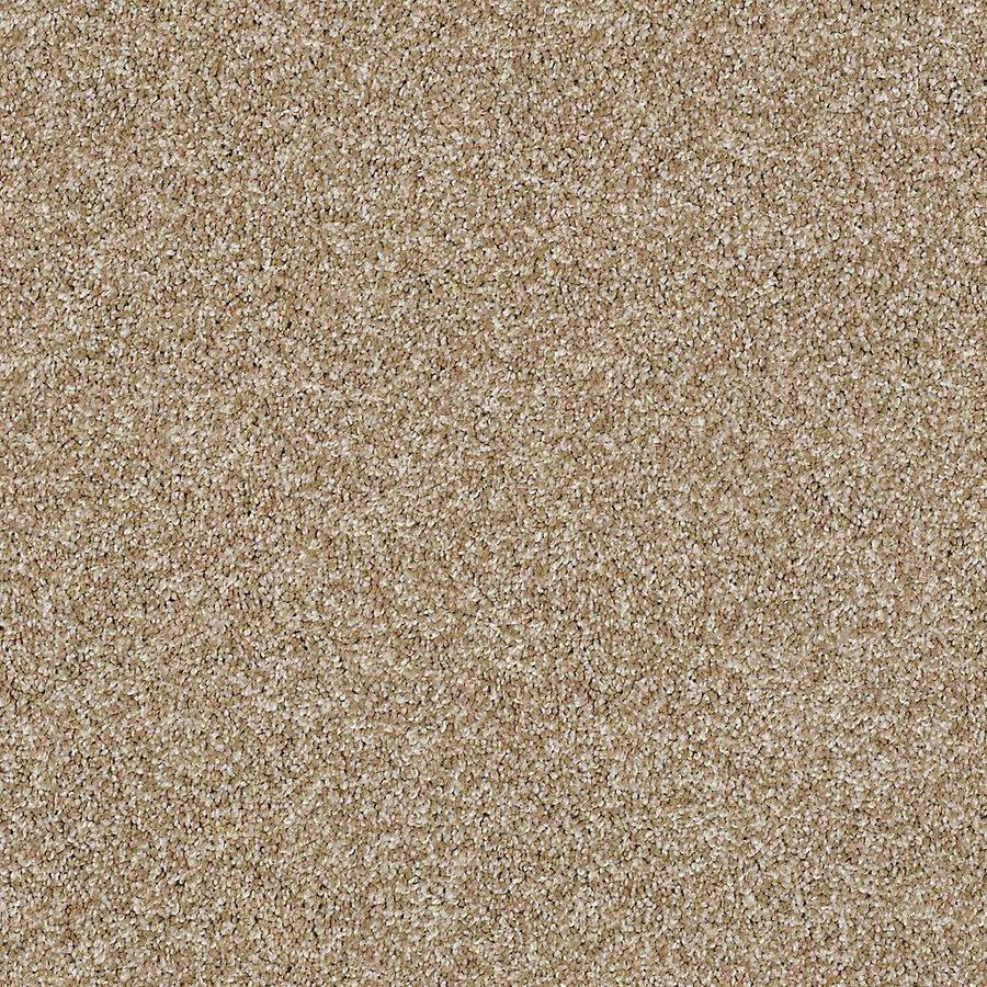 STAINMASTER PetProtect Foundry II 12-ft W x Cut-to-Length Toast Textured Interior Carpet