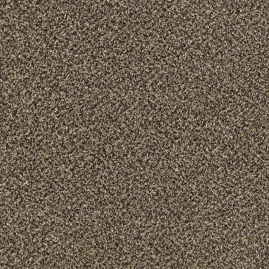 STAINMASTER PetProtect Foundry II 12-ft W x Cut-to-Length Sandalwood Textured Interior Carpet