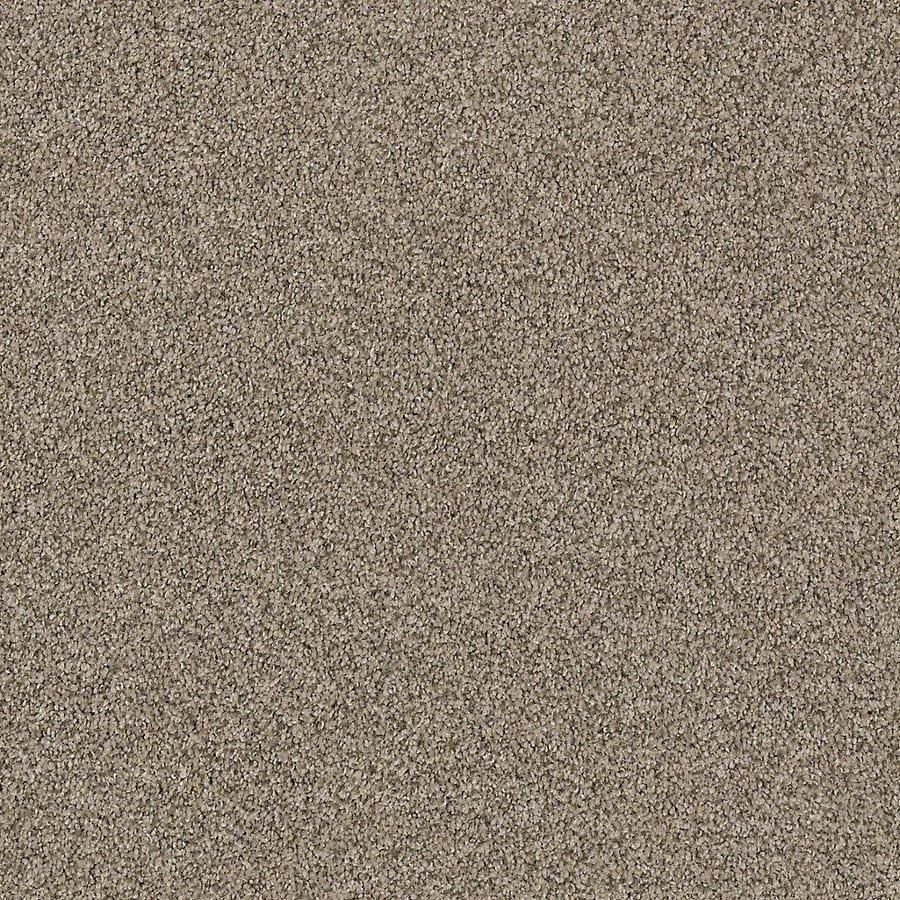 STAINMASTER PetProtect Foundry II 12-ft W x Cut-to-Length Tranquil Taupe Textured Interior Carpet