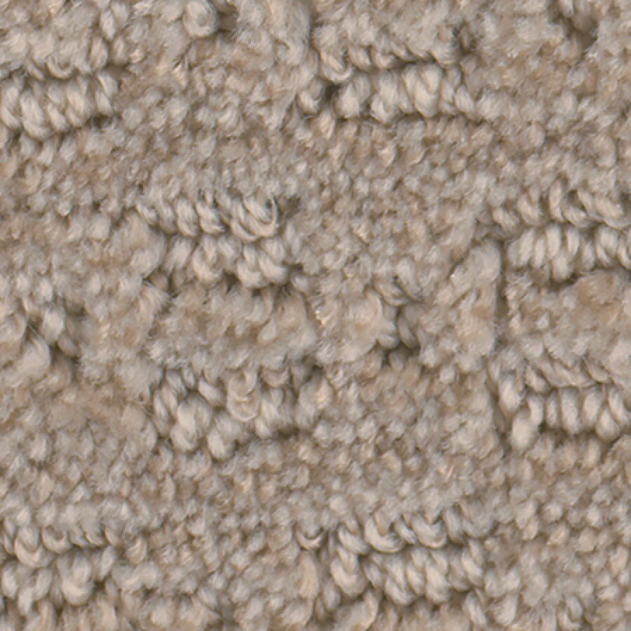 STAINMASTER Active Family with Lifeguard Splash Town Beige Swirl Pattern Indoor Carpet