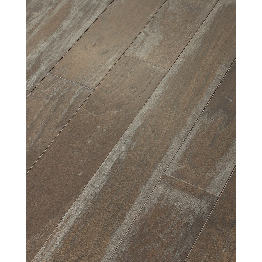 Style Selections Hickory Hardwood Flooring Sample (Wicker)