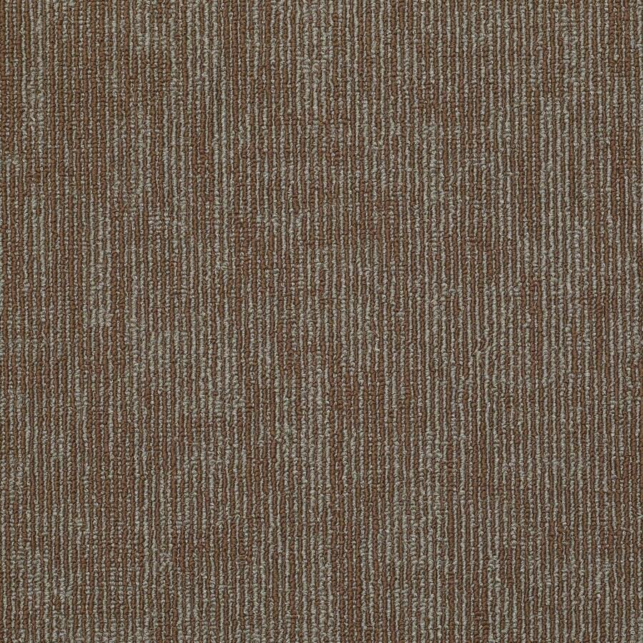 Shaw In Demand Tile 12-Pack 24-in x 24-in Duplicate Berber/Loop Full Spread Adhesive Carpet Tile