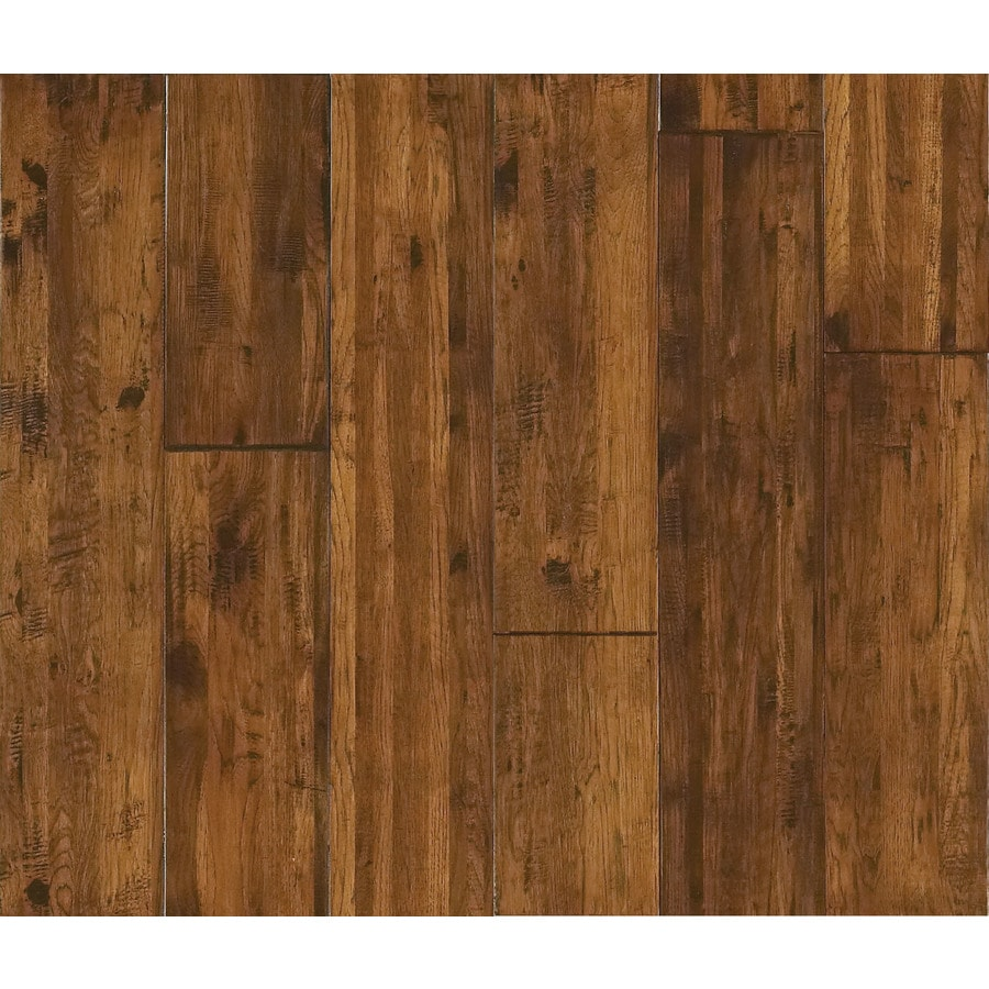 Shaw Beacon Point 8-in Prefinished Highland Trail Hickory Hardwood Flooring (17.3-sq ft)