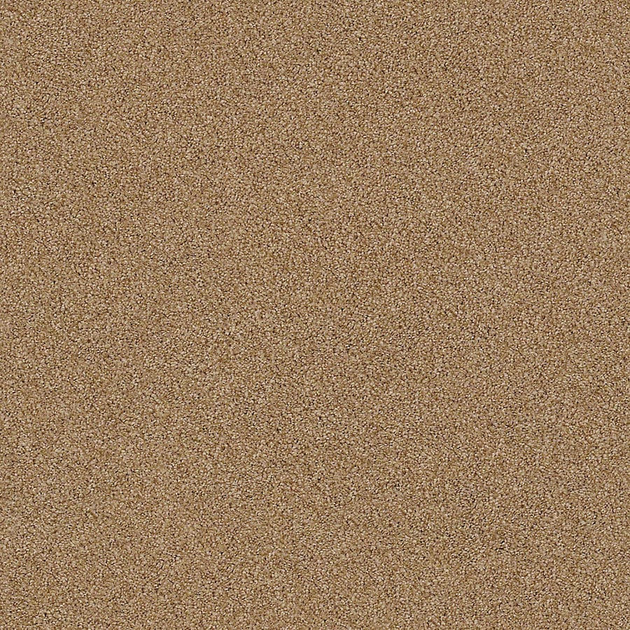 STAINMASTER LiveWell Breathe Easy II 12-ft W x Cut-to-Length Caramel Dream Textured Interior Carpet