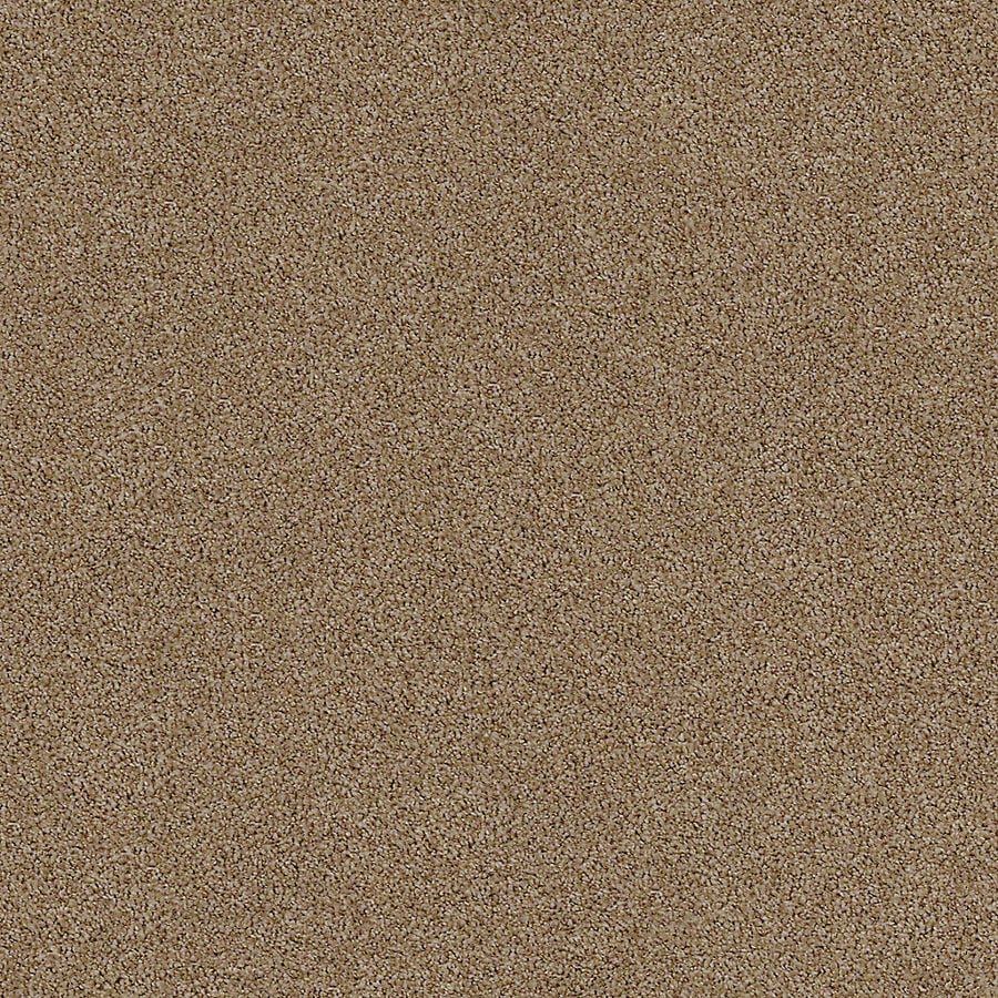 STAINMASTER LiveWell Breathe Easy II 12-ft W x Cut-to-Length Toffee Textured Interior Carpet
