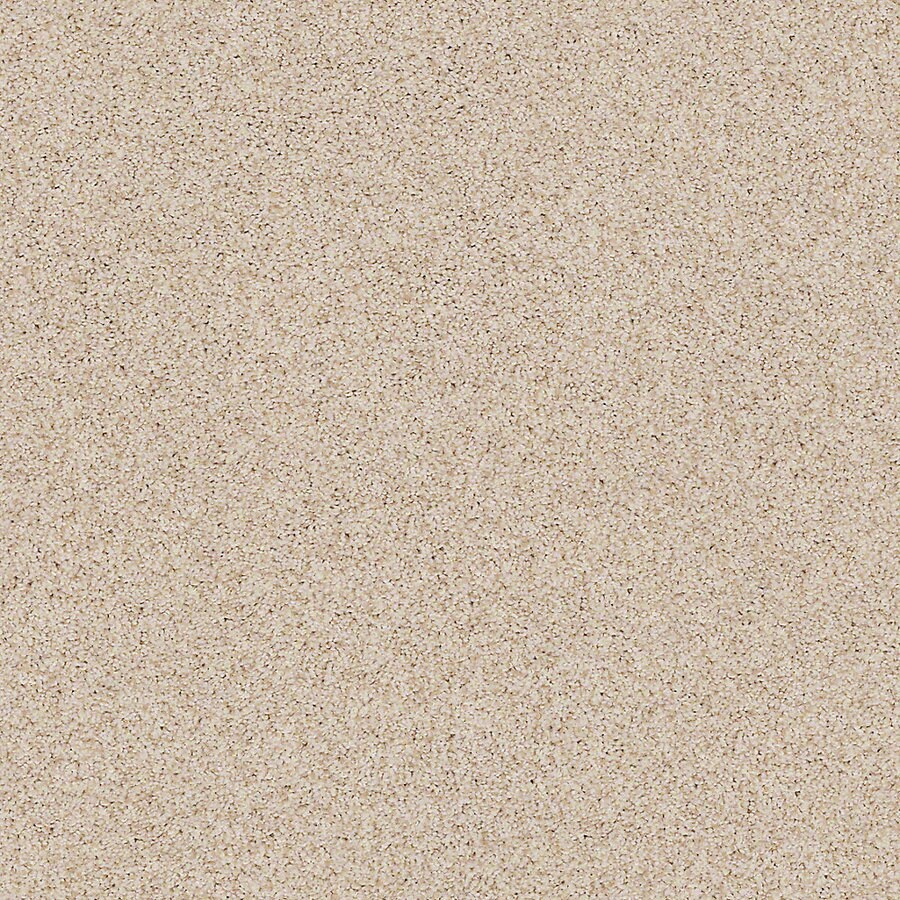 STAINMASTER LiveWell Vigorous I 12-ft W x Cut-to-Length Au Natural Textured Interior Carpet