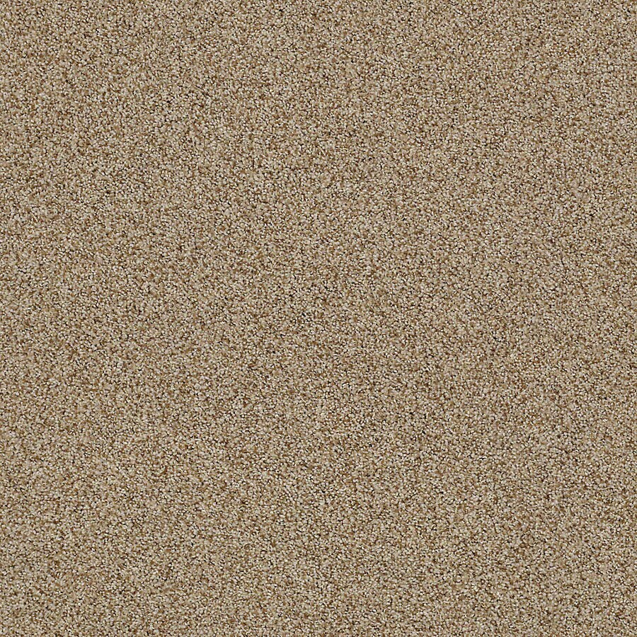 STAINMASTER LiveWell Vigorous I 12-ft W x Cut-to-Length Amaretto Textured Interior Carpet