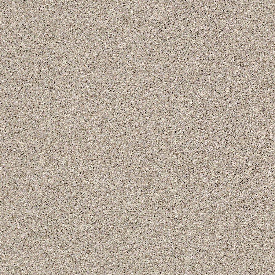 STAINMASTER LiveWell Vigorous II 12-ft W x Cut-to-Length Mummy Textured Interior Carpet