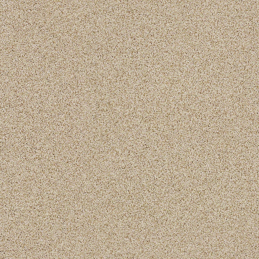 STAINMASTER LiveWell Vigorous II 12-ft W x Cut-to-Length Cozy Light Textured Interior Carpet